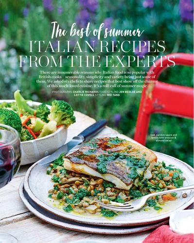delicious magazine July 2017